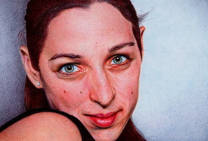 woman_s_portrait___bic_ballpoint_pen_by_vianaarts (700x473, 337Kb)