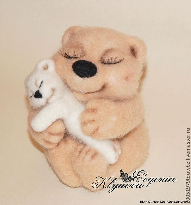 мастер-класс по сухому валянию медвежонка (3) (652x700, 236Kb)