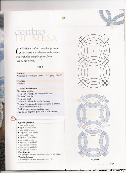 "Журнал ""Patchwork: a Arte de Unir Retalhos"". Обсуждение на"
