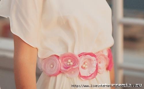 6cb3675c2f6f99a пояс для платья своими руками - Самое интересное в блогах
