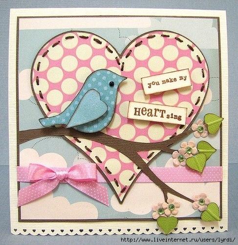 Открытка ко дню птиц своими, открытка днем рождения