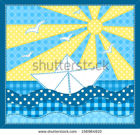 stock-vector-white-ship-patchwork-sea-picture-vector-children-illustration-156964910 (450x432, 85Kb)