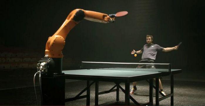 da96d10a206 Бывший чемпион по настольному теннису обыграл робота . Обсуждение на ...