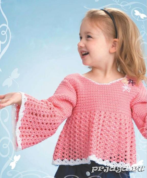 вязание детских кофточек самое интересное в блогах
