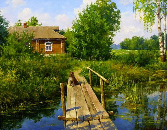 природа деревенская картинки