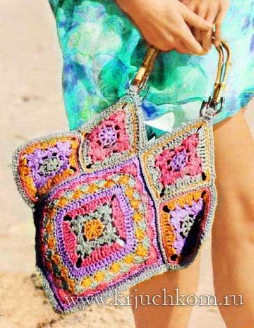 4fab024ff18b вязаные сумки крючком - Самое интересное в блогах