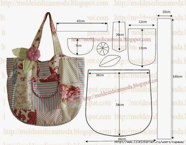 fbd2b2d625eb выкройки сумок - Самое интересное в блогах