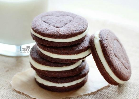 Как испечь печенье орео