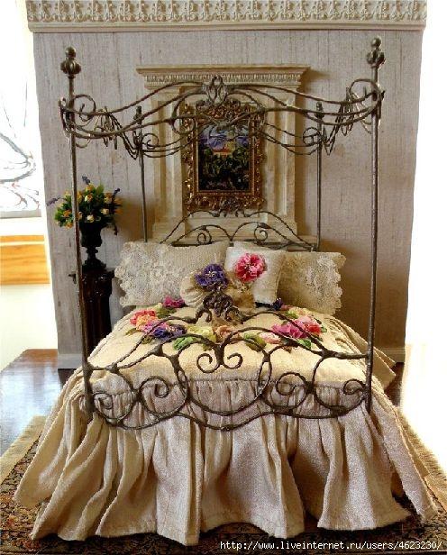 Кроватки для кукол из картона своими руками фото 124