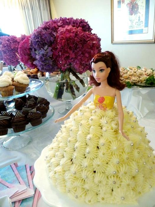 Картинки тортов с куклой барби
