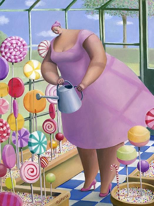 Картинки толстух прикол