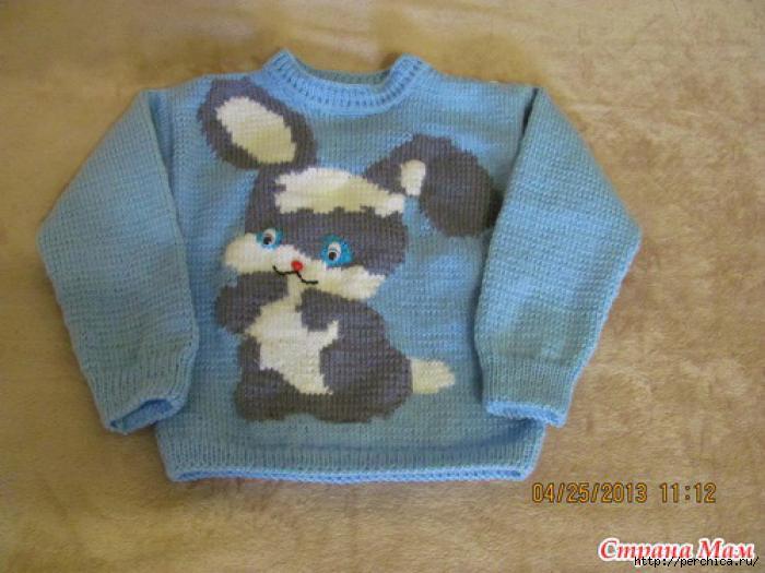Схемы вязания детских изделий