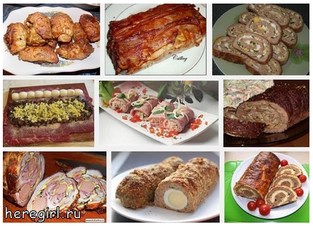 вкусный мясной рулет рецепт