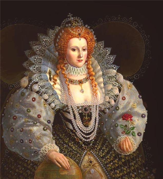 Королева елизавета 1 девственница