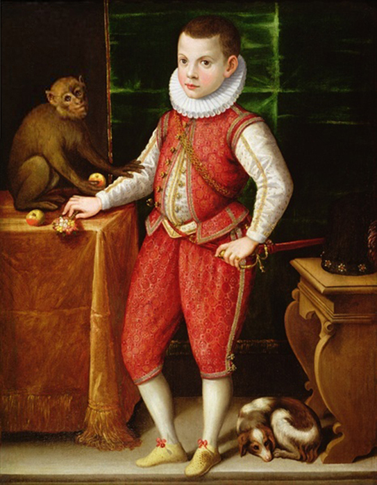 2097049_Portrait_of_a_Young_Nobleman_with_a_Monkey_and_a_Dog_c_1615_Flemish_School_17th_century_oil_on_canvas__124_5x98_cm__PC (543x700, 318Kb)//2097049_Portrait_of_a_Young_Nobleman_with_a_Monkey_and_a_Dog_c_1615_Flemish_School_17th_century_oil_on_canvas__124_5x98_cm__PC (543x700, 318Kb)