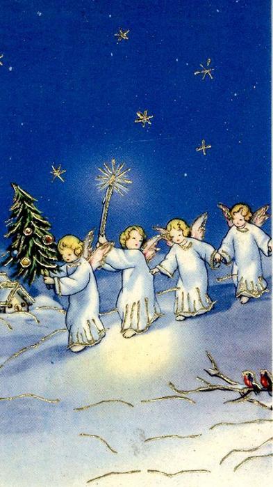 Вальдорфские открытки рождество, православный мир
