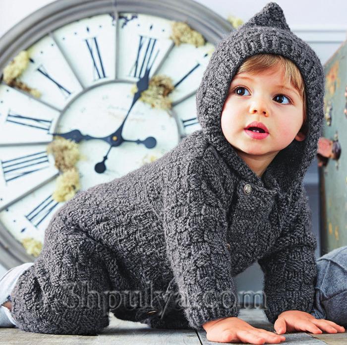 По выкройке шьем детский комбинезон своими руками