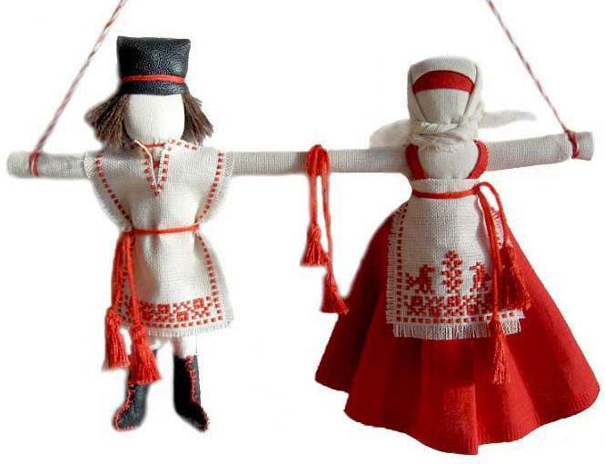 Обереговые кукла своими руками