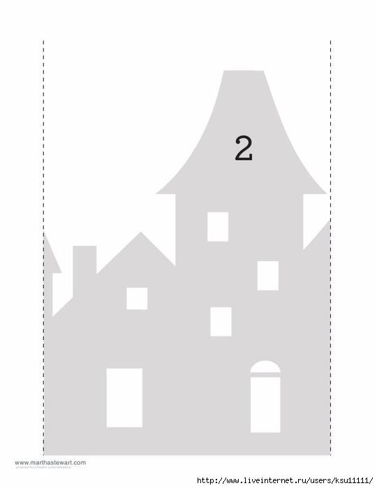 Самые, открытка домик шаблоны