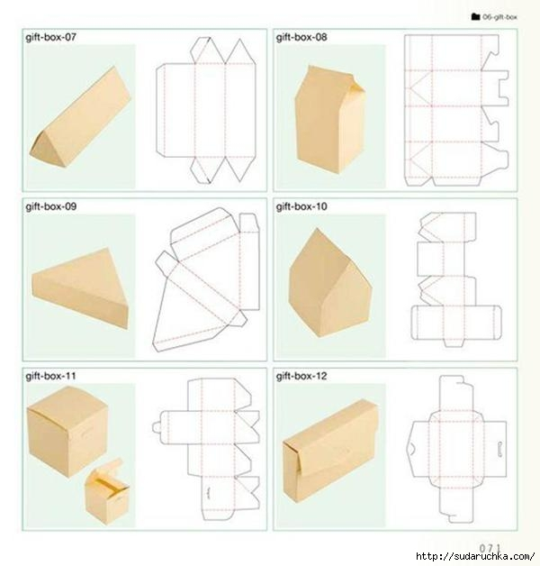 Шаблоны для создания подарков