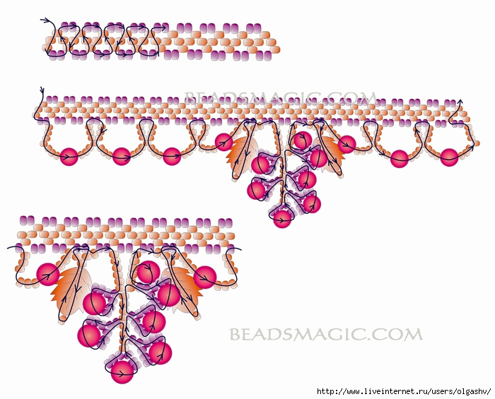 free-beading-tutorial-necklace-pattern-aututmn-2 (700x565, 225Kb)