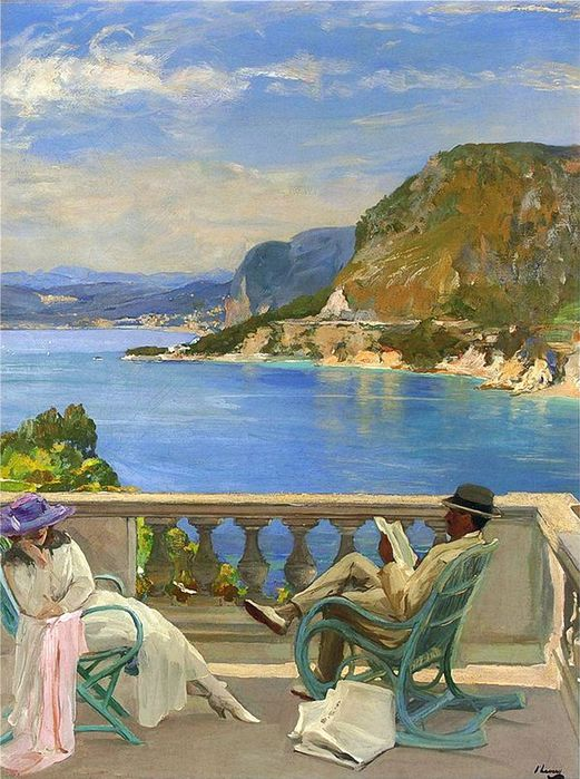 1John Lavery - The Honeymoon (521x700, 90Kb)