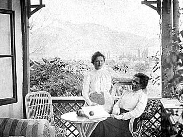 сёстры Герцык, Аделаида слева. Судак. 1910-е годы _560 (640x480, 209Kb)