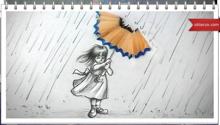 Детские рисунки из карандаша