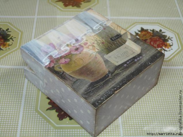 Декупаж. Рисуем вуаль со складочками. Мастер-класс (12) (635x476, 143Kb)