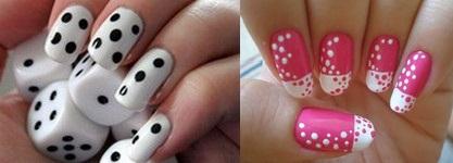 рисунки на ногтях дотсом фото