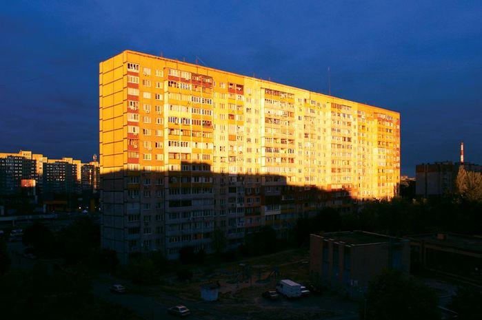 киев троещина вечер