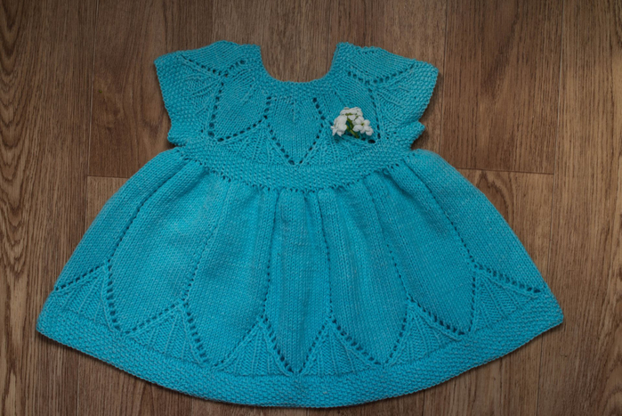 Платье для девочки на 6 месяцев фото