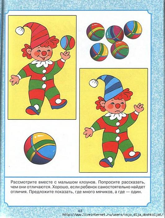 Подружка, картинки клоунов найди отличия