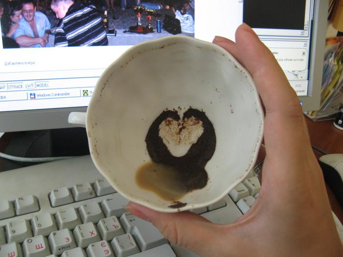 Гадания на кофейной гуще толкование картинки человек с букетом