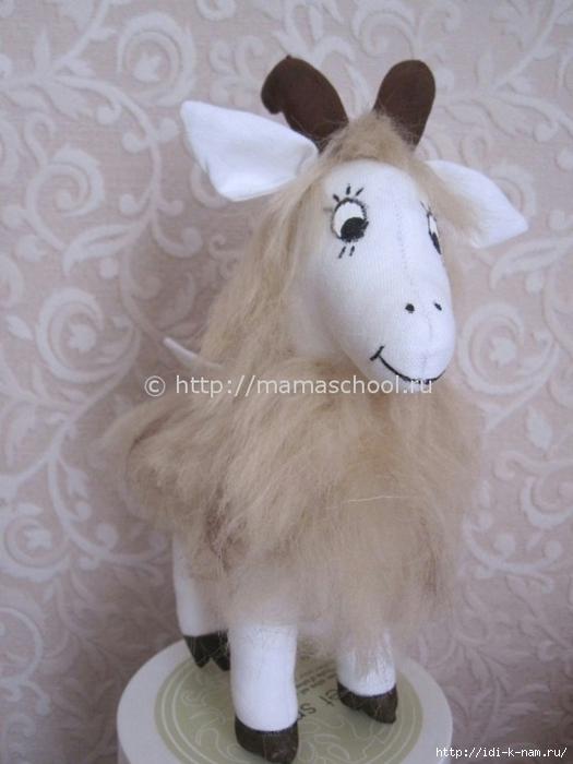 Шьем козу мастер класс подробно #2