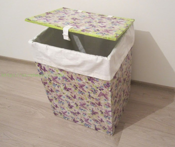 Ящик для белья мастер класс инструкция #1