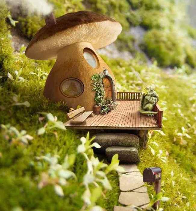 домики грибы фото информация будет полезна