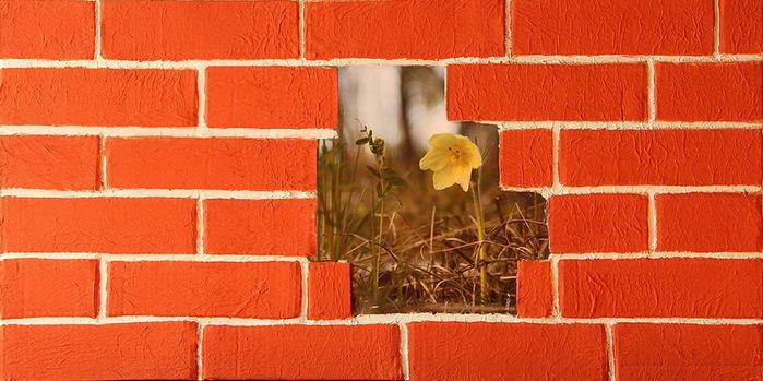 стены под кирпич в интерьере фото