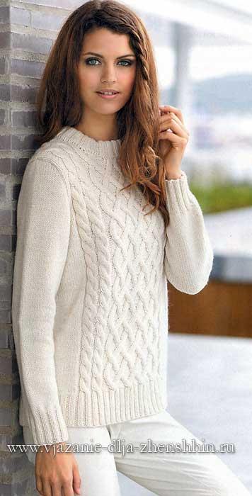 вязание свитера спицами самое интересное в блогах