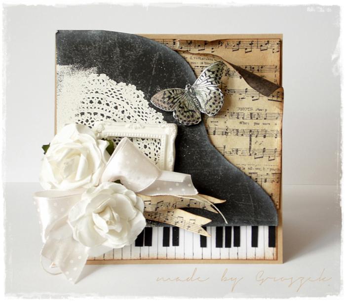 Музыкальные платы из открыток, поздравление