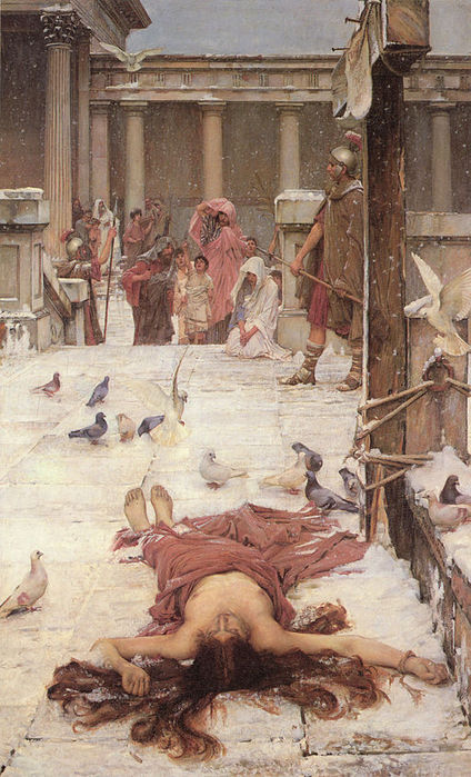 512px-John_William_Waterhouse_-_Saint_Eulalia_-_1885 (424x700, 89Kb)