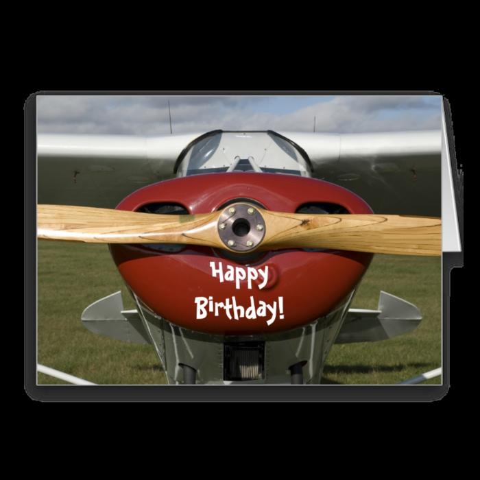 также день рождения авиатор открытка этом