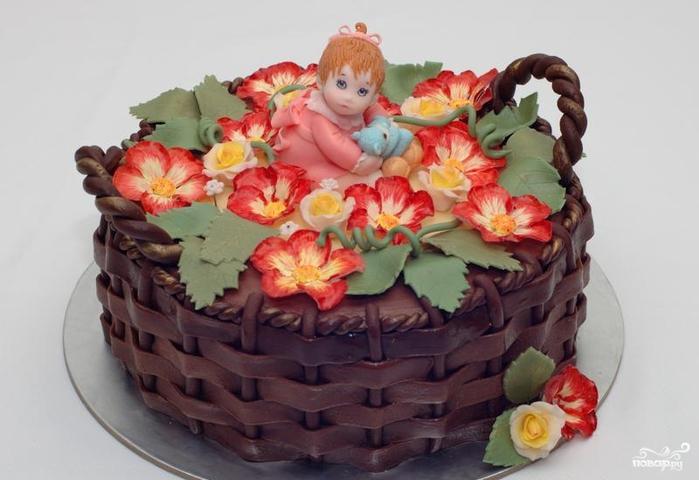 рецепт торт к 8 марта