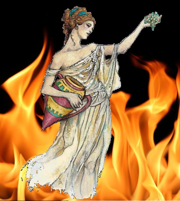 Веста богиня картинки