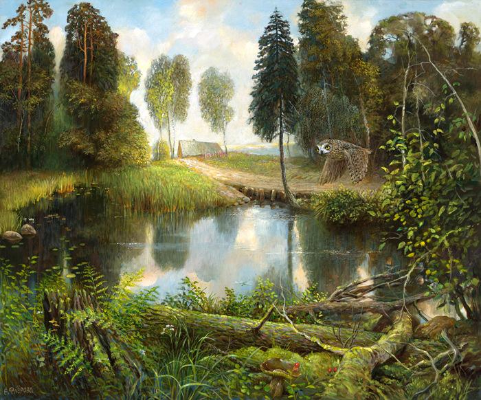 13-Русский-лес (700x582, 635Kb)