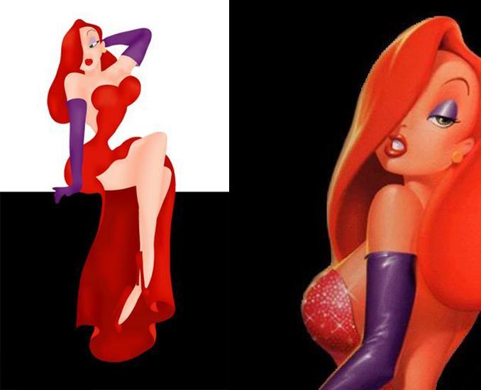 Секси девочки из мультфильма