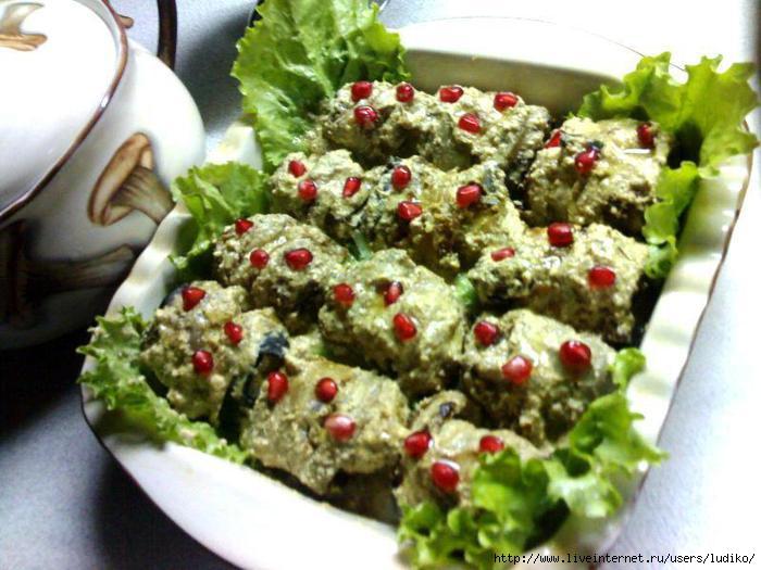 200Рецепт из баклажанов грузинская кухня