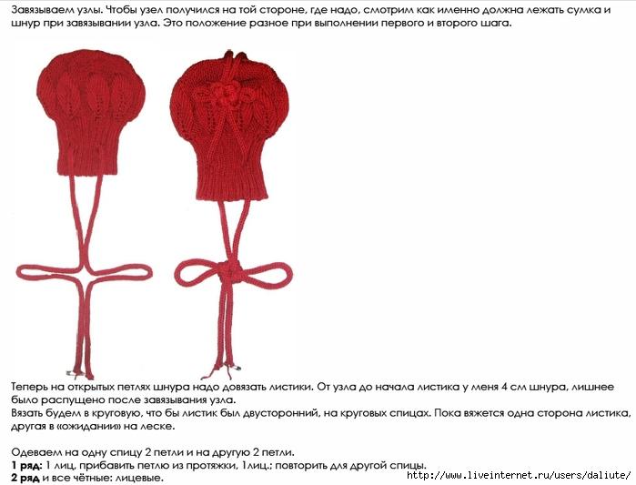 Сумочка с листьями, дизайнер Kristiina Temin.