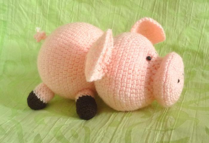 вязаная свинка самое интересное в блогах