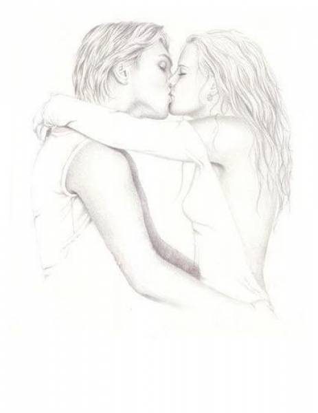 Красивый рисунок с любовью 123